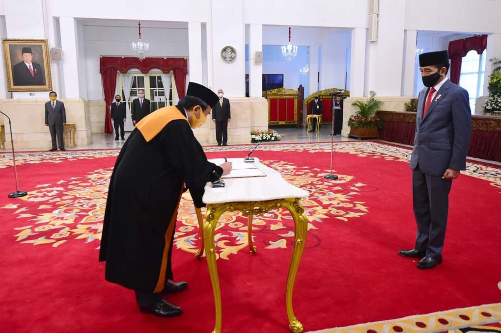 Selamat Atas dilantiknya Ketua Mahkamah Agung (MA) terpilih